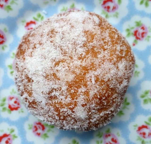 plum jam doughnut