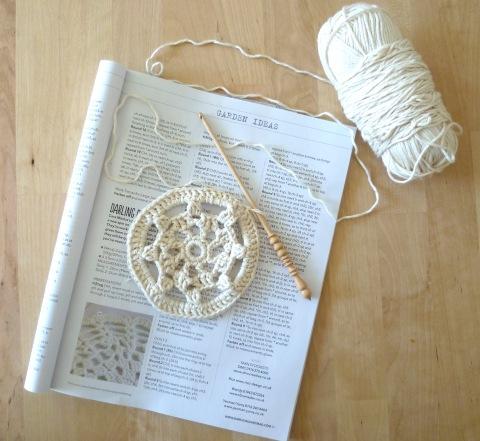 simply crochet doily