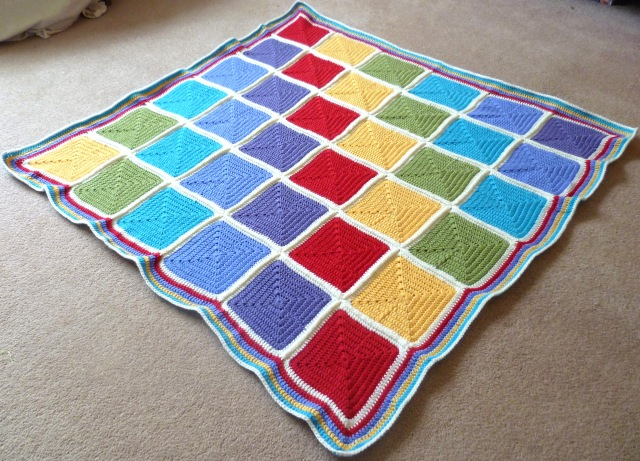 crochet squares baby blanket