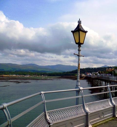 Bangor pier lamp