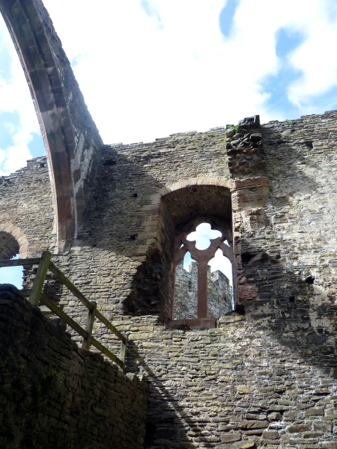 Conwy interior window